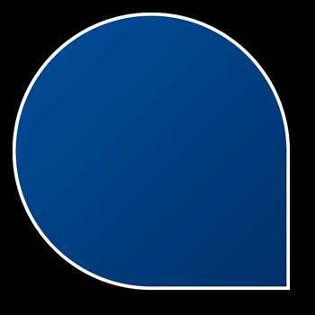 button in header area
